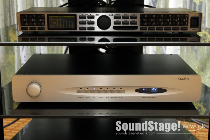 Sanders Sound Systems Preamplifier at RMAF 2012
