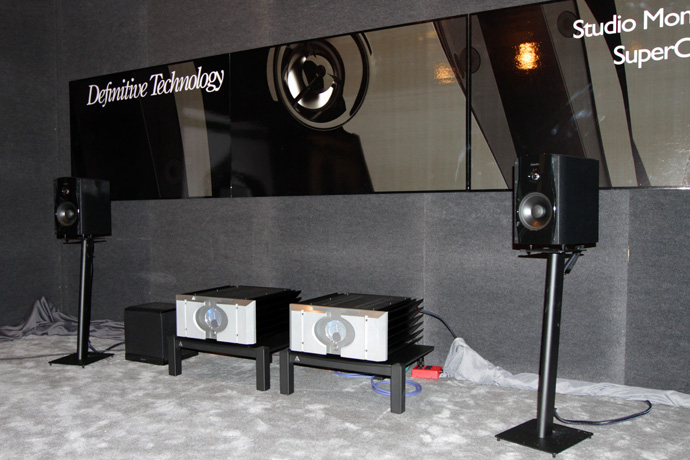 Definitive Technology sound room