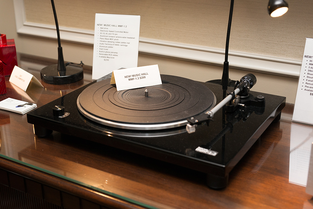 Music Hall turntable