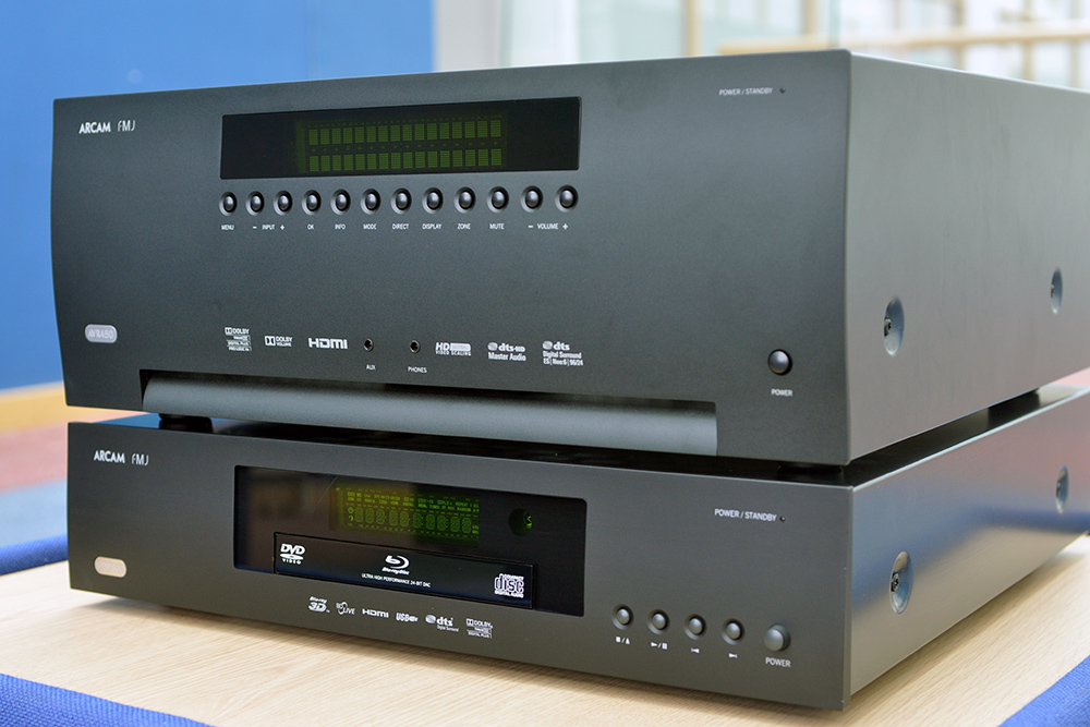 Arcam AVR450 and BDP300