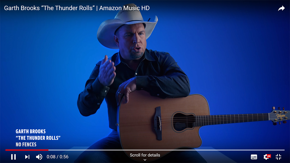 Amazon Garth Brooks