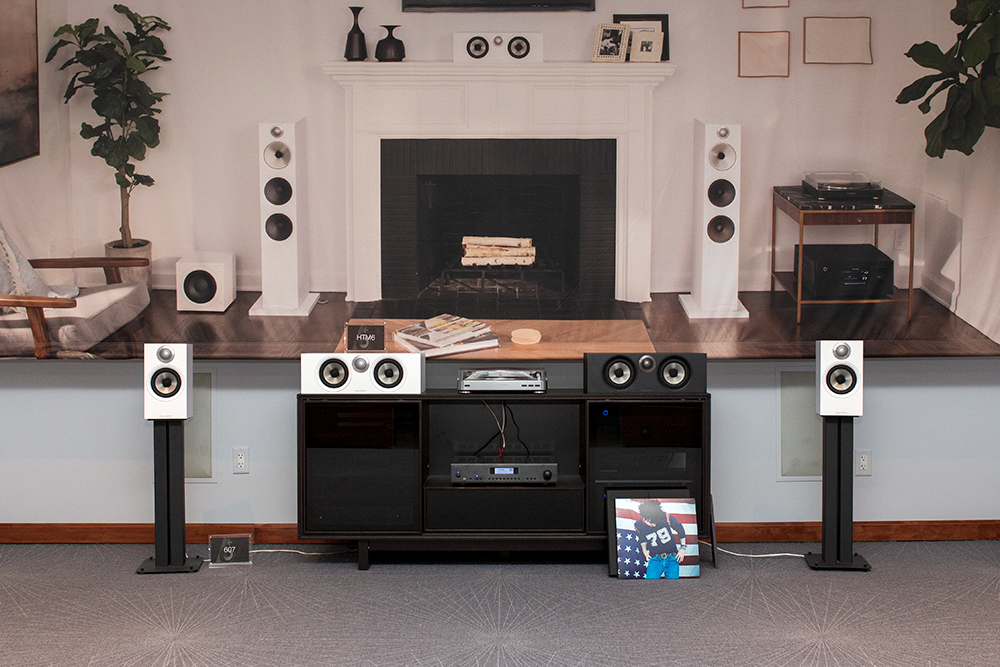 Bowers & Wilkins 607 and HTM6