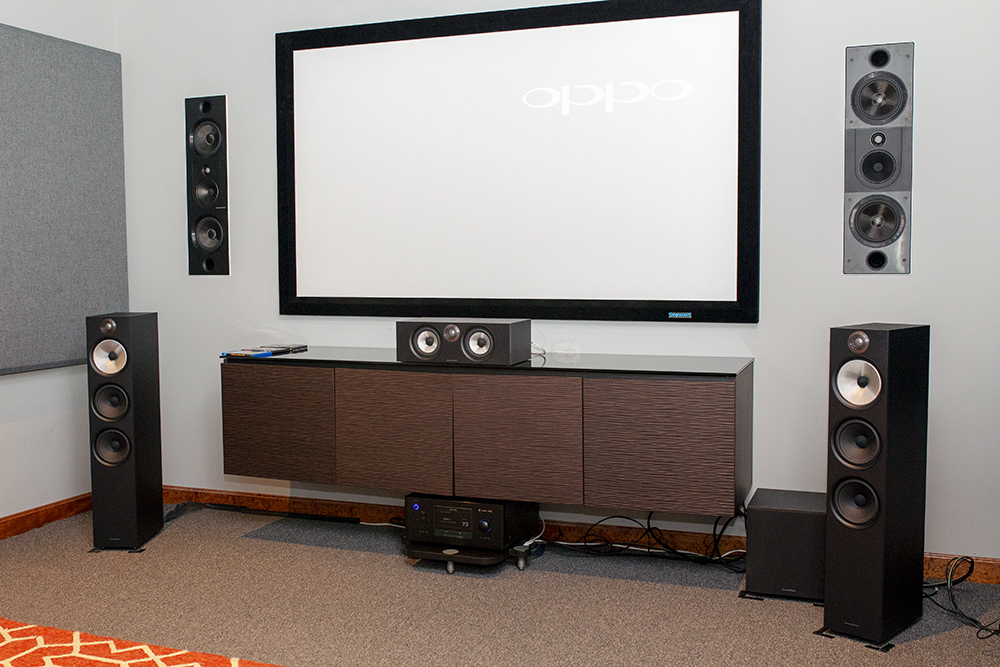 600 home-theater setup