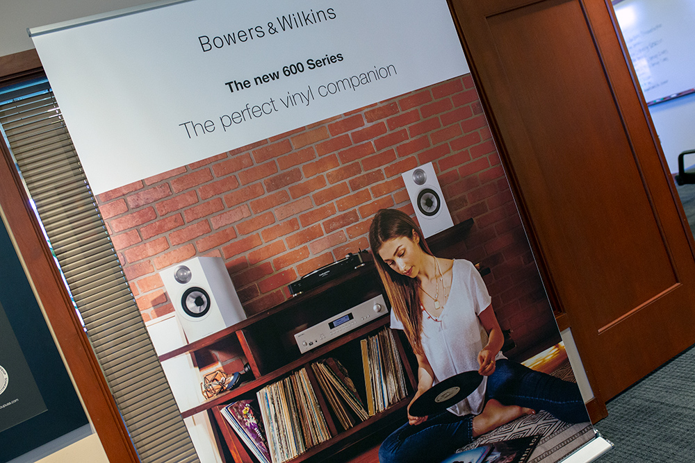 Bowers & Wilkins poster