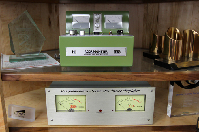 Blood analyzer and Pro3 amplifier
