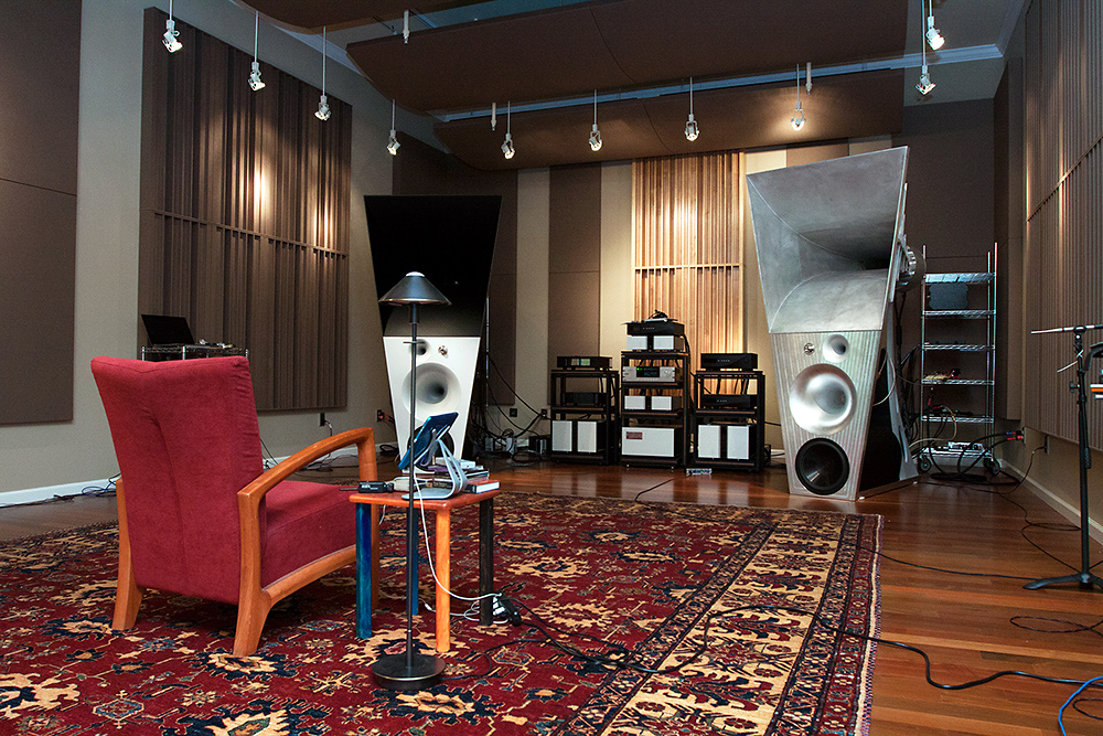 Magico's listening room